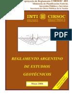 Reglamento - CIRSOC 401 - Abril 2006