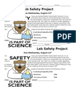 lab safety project