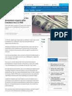Precio Del Dólar en Colombia - Indicadores