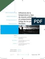 Arcticulo Influencia de la Temperatura en pavimentos