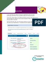 1app Tips Amending an Application