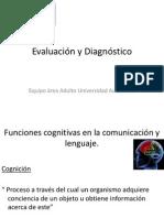 Evaluación Cognitiva y Diagnóstico Adultos
