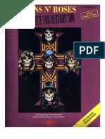 Guns n' Roses - Appetite for Destruction Full songbook