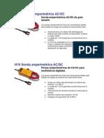 Sondas amperimétricas FLUKE i1010, i410 AC