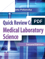 Quick Review Cards for Medical Laboratory Science - Polansky, Valerie Dietz