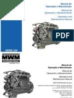 1- MWM Série 229 Manual de Operação