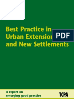 Best Practice in Urban Extensions and New Settlements - DCLG TCPA England - 2007