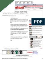 08-06-2015 Busca Reynosa Más Recursos Para Arreglar Drenaje