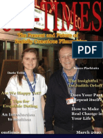 OM-Times Magazine March 2010 Edition