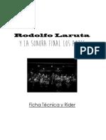 Rodolfo Laruta y la SFlA - Ficha Técnica y Rider