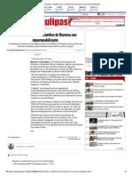 08-06-2015 Benefició Itavu a 140 Familias de Reynosa Con Impermeabilizante