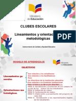 Presentación Clubes