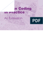 Design Coding in Practice an Evaluation - DCLG England - 2006