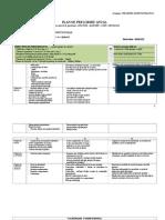 Planul de Pregatire Pe Mezocicluri - Cls Ix-xii