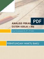 Materi APK - 6. Faktor Penyesuaian