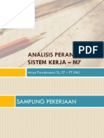 Materi APK - 7. Sampling Pekerjaan