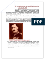 Cronología de Los Presidentes 1932 1946 1