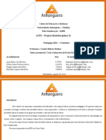 ATPS Projeto Multidisciplinar II