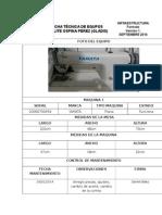 Ficha Técnica de Maquinas Sat. Ospina Perez Gladis