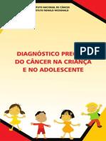Diagnostico Precoce Cancer Crianca