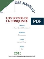 Los Socios de La Conquista Del Perú