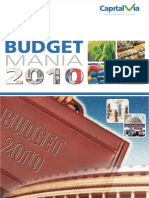 Budget  2010- Preview