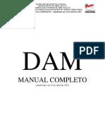 DAM - MANUAL COMPLETO - Atualizado Em 15 de Abril de 2011