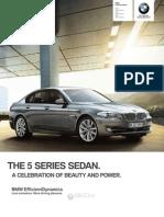 BMW 550 2012 Misc Documents-Brochure