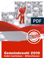 Gemeinderatswahl 2010