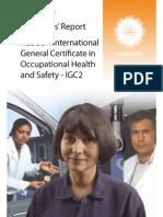 Examiners Reports IGC2 September 2012 IGC2