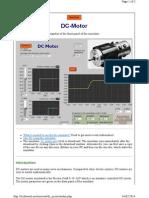 Techteach.no Simview Dc Motor Index
