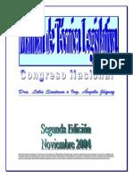 Manual de Tecnica Legislativa