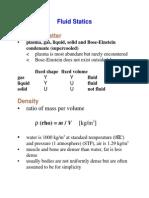 Fluids Statics