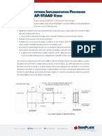 Connection Stiffness Implementation Procedure A