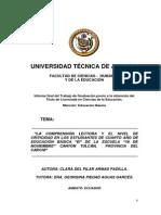 Armas_tesis Ecuador Comprension Lectoracriticidad