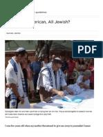 Part Asian-American, All Jewish