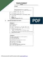 Igcse Add Math - Geometry Coordinate7