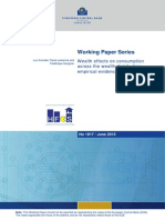 Europe Central Bank Working Paper