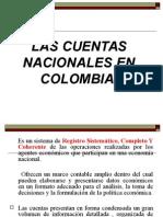 Cuentas Nacionales en Colombia
