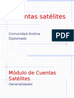 Cuentas Satelites
