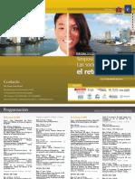 Programa III Simposio Las Sociedades ante el Reto Digital, 2010