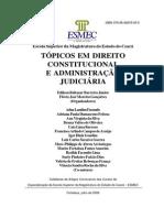 Tópicos Em Direito Const e Adm Judiciaria - Magistratura