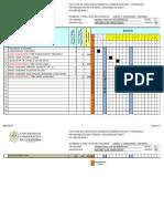 Diagrama de Gantt Mat. Fciera 2015-2