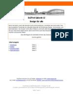 DaZPod 0012 DesignFuerAlle Transkript