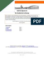 DaZPod 0021 Handwerkerrechnung Transkript