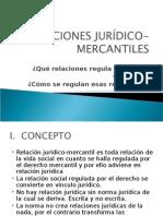 RELACIONES JURìDICO-MERCANTILES