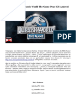 Comment Hack Jurassic World The Game Pour iOS Android
