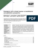 Emergency Care in Facial Trauma-1