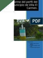 Perfil Del Municipio Villa El Carmen