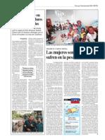 Las mujeres son las que más sufren la pesadilla de Haití